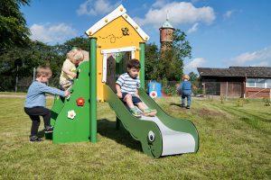 Kleinkind-Spielturm aus Kunststoff