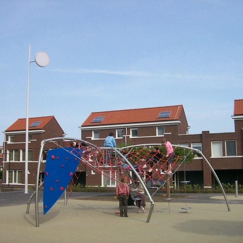 Kletterspielgerät für den Spielplatz, Edelstahl, Ijslander Spider