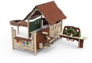 Spielhaus für Rollenspiele